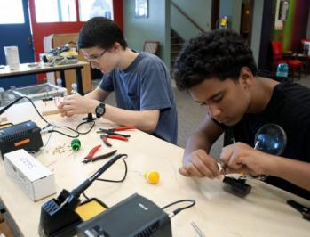Betty Brinn Museum Maker Faire Milwaukee youth teens