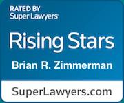 Super Lawyers Rising Stars Brian R. Zimmerman